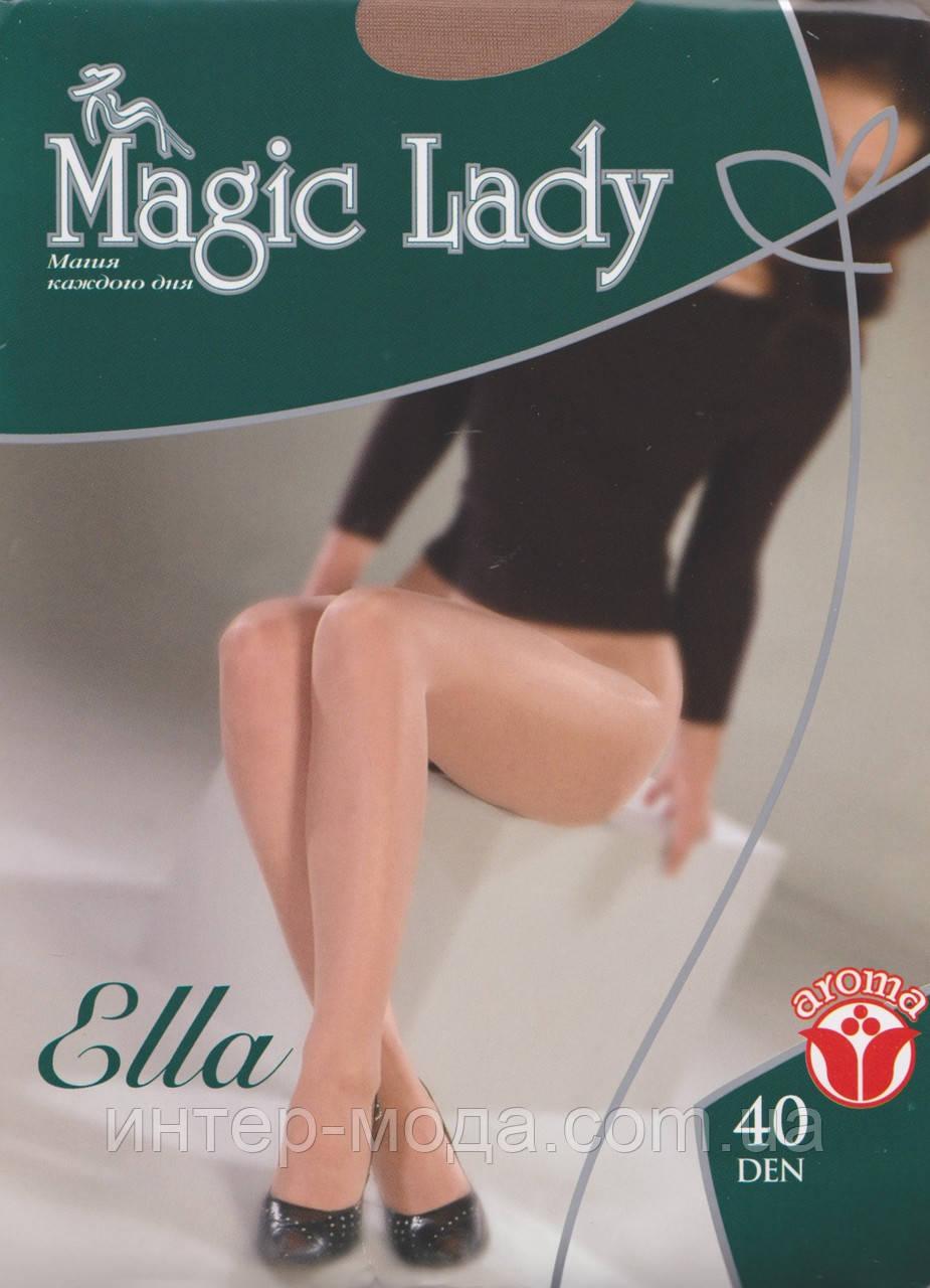 Колготки жіночі Ella 40 Бежевий 4