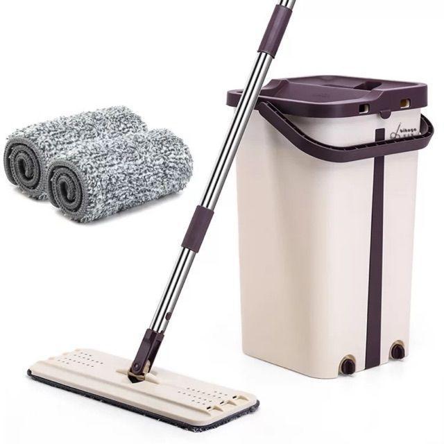 Швабра с отжимом Scratch Cleaning Mop TyT