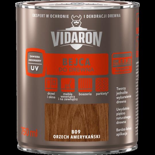 Бейц для древесины Vidaron В09 американский орех 750 мл