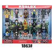 Коллекционные фигурки Роблокс с аксессуарами | Roblox Legends (15 человечков) PS 1863