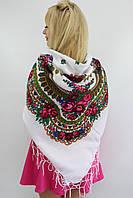 Хустка біла велика українська народна 630001