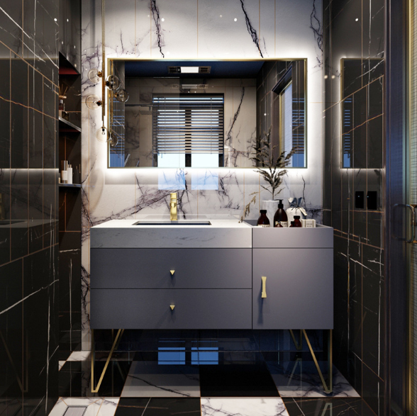 Комплект мебели для ванной Felix House RD-808/1