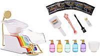 Рейнбоу Хай набор- Салон красоты Rainbow Surprise High Salon Playset with Rainbow of DIY Washable Hair Color