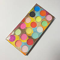 Акриловая пудра цветная для дизайна ногтей Master Professional,18шт