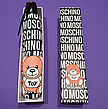 Зонт напівавтоматичний складной Moschino Toy Bear чорний, фото 5