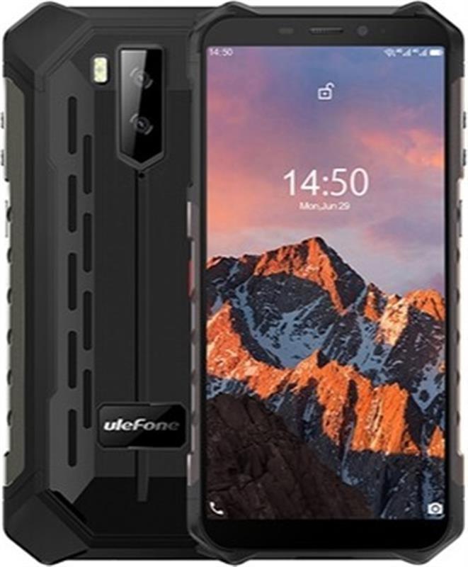 """Смартфон Ulefone Armor X5 Pro Dual Sim Black (6937748733829); 5.5"""" (1440x720) IPS / MediaTek Helio A25 / ОЗУ 4 ГБ / 64 ГБ встроенной + microSD до 256"""