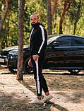 Asos tech-diving  мужской красны с капюшоном спортивный костюм осень весна.Asos худи +штаны красны с лампасами, фото 4