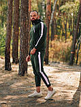 Asos tech-diving  мужской красны с капюшоном спортивный костюм осень весна.Asos худи +штаны красны с лампасами, фото 6
