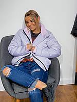 Женская объемная куртка с усовершенствованным дизайном
