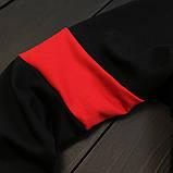 Under Armour мужской черный с красным спортивный костюм на молнии осень.Under Armour Поло+штаны+сумка комплект, фото 4