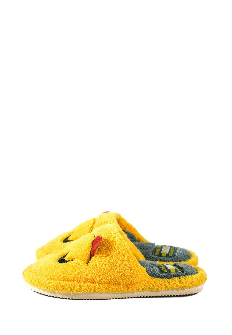 Тапочки кімнатні дитячі Home Story жовтий 21780 (29)