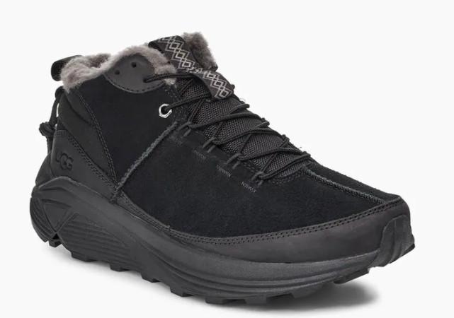 Зимние кожаные ботинки сапоги угги ugg miwo trainer оригинал US11  29.5 см