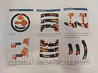 Хулахуп обруч для похудения массажный HULA Hoop LED, фото 4