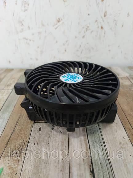 УЦЕНКА! Ручной портативный вентилятор складной Mini Fan Handy SS-2 Черный