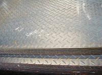 Лист 8 мм рифленый (1,25х6) ст.3