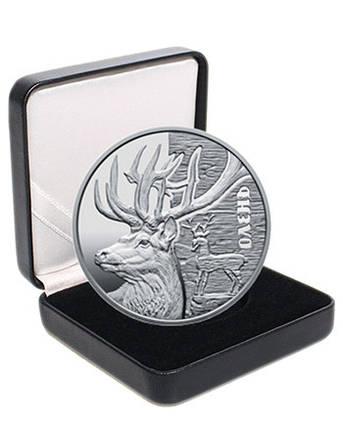 """Срібна монета НБУ """"Олень"""", фото 2"""