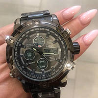 Оригинальные мужские наручные часы AMST 3022 Metall All Black