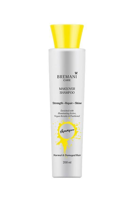 Makeover Shampoo. Normal & Damaged Hair. Шампунь «Перевоплощение волос. Сила, сияние и гладкость», Bremani