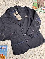 Трикотажный пиджак на мальчиков 146  роста Blueland