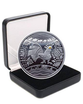 """Срібна монета """"Рік Півня"""", фото 2"""