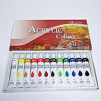 Краска акриловая набор 12шт