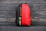 Спортивный городской рюкзак Puma Scuderia Ferrari пума Феррари Красный Vsem, фото 7