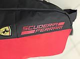 Спортивный городской рюкзак Puma Scuderia Ferrari пума Феррари Красный Vsem, фото 9