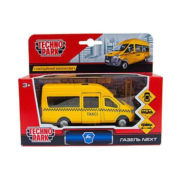 Іграшкова машинка Газель Таксі Жовта 1:32 Technopark (SB-18-19-T-WB)