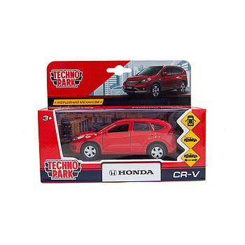 Игрушечная машинка Honda CR-V Красная 1:32 Technopark (CR-V-RD(FOB))