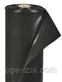 Пленка строительная черная 200мкн (3м х 100м) 1,5м/рукав
