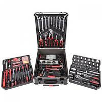 Автомобильный набор инструментов в кейсе 399 pcs качественный набор для авто механика в чемодане