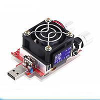 USB тестер - электронная нагрузка 35 Вт