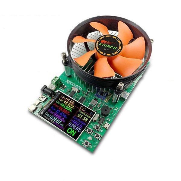 Электронная нагрузка с Bluetooth, Atorch DL24 на 150Вт, 20В, 20A