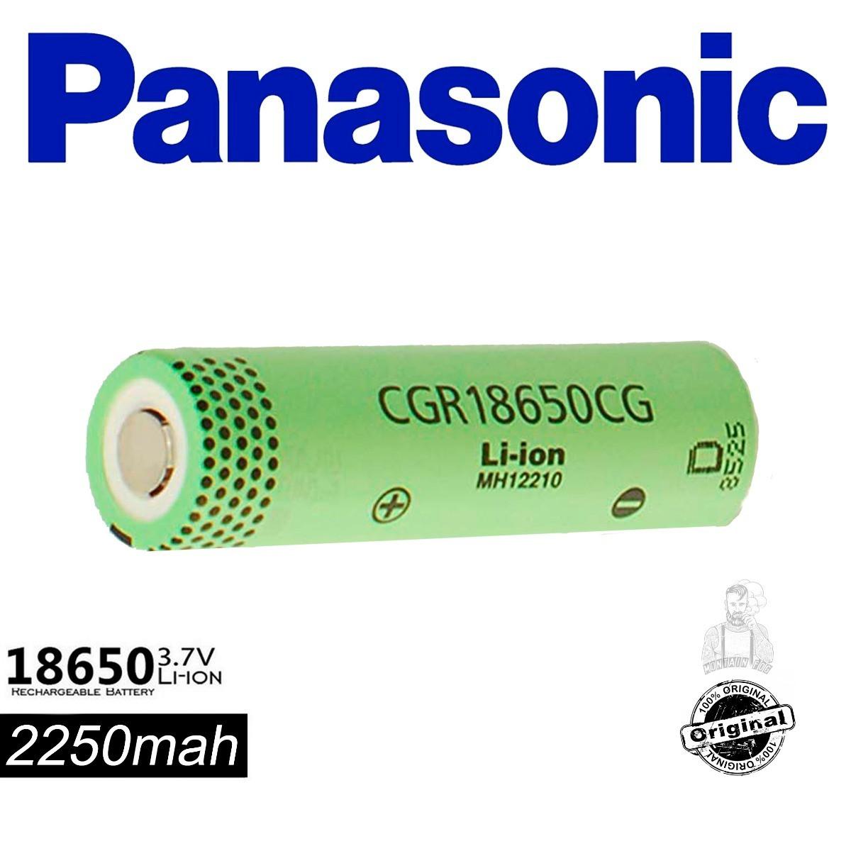 Аккумуляторы Panasonic CGR18650CG 2250 mAh/4,2А