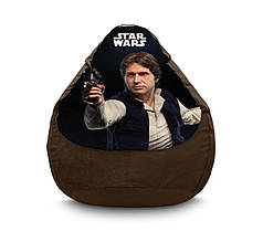 "Кресло мешок ""Star Wars. Han Solo"" Флок"