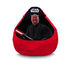 "Кресло мешок ""Star Wars. Darth Maul"" Флок"