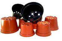 Горшки для рассады пластиковые, технические круглые, фото 1