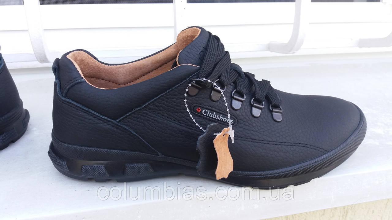 Польские осенние мужские туфли