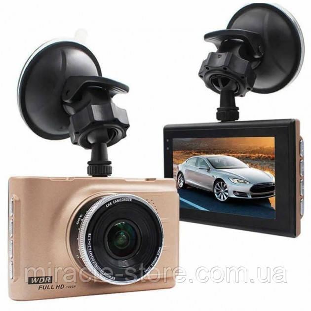 Відеореєстратор автомобільний відеореєстратор в машину Full HD 1080P з кутом огляду в 170°