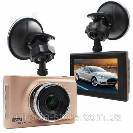 Відеореєстратор автомобільний відеореєстратор в машину Full HD 1080P з кутом огляду в 170°, фото 2
