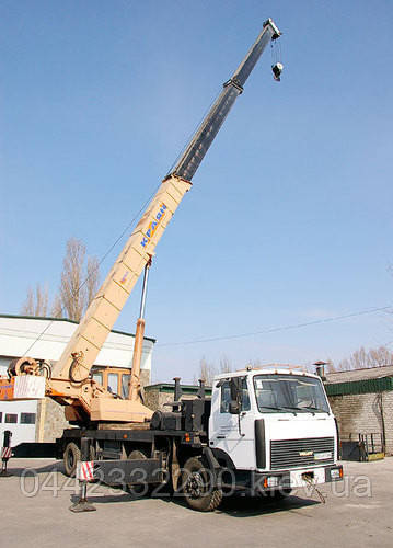 Аренда автокрана 50 тонн «КШТ-50 Краян»
