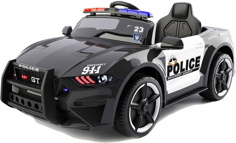 Детский Электромобиль Ford Mustang Police Белый