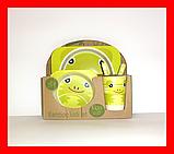 Набір дитячої бамбуковій посуду, маленька, фото 3