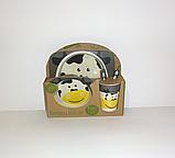 Набір дитячої бамбуковій посуду, маленька, фото 5