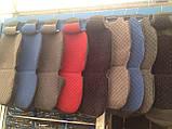 Авточехлы накидки на передние сидения универсальные из жаккарда, фото 7