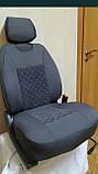 Авточехлы накидки на передние сидения универсальные из жаккарда, фото 2