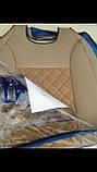 Авточехлы накидки на передние сидения универсальные из жаккарда, фото 3