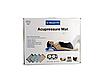 Масажний ортопедичний килимок з подушкою Acupressure Mat Ортопедический массажный коврик 65 см*41 см, фото 2