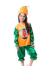 Костюм морковки Детский карнавальный костюм Морковка