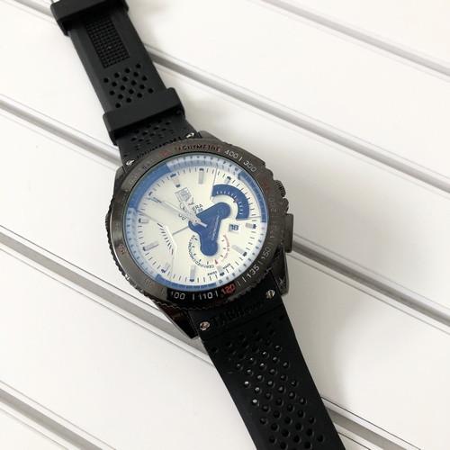 Наручные мужские часы Таг Хауер ( Хоер) Carrera Calibre 36 Black-White Quartz